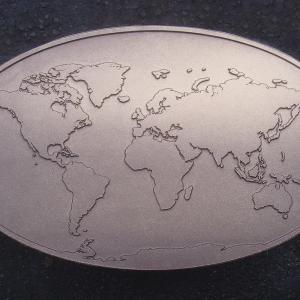 World Map Raw E